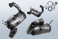 Filtro antiparticolato diesel RENAULT Megane III 1.5 dCi 110 (BZ0/1)