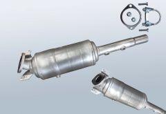 Filtro antiparticolato diesel RENAULT Megane II 1.5dCi (LM16)