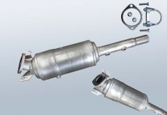 Filtro antiparticolato diesel RENAULT Megane II 1.5dCi (BM16)