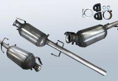 Filtro antiparticolato diesel MERCEDES BENZ Vito 109 CDI (W639701)