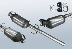 Filtro antiparticolato diesel MERCEDES BENZ Vito 109 CDI (W639605)
