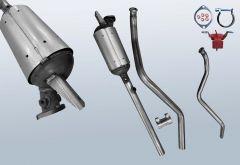 Filtro antiparticolato diesel RENAULT Laguna II 2.0 dCI (BG0/1)