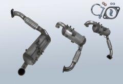 Filtro antiparticolato diesel FORD C-Max 1.6 TDCI (CB7)