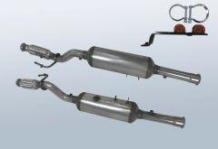 Filtro antiparticolato diesel CITROEN C8 2.0 HDI