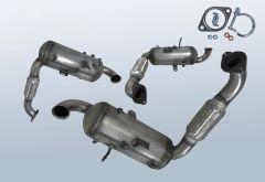 Filtro antiparticolato diesel FORD Focus III 1.6 TDCI (CB8)