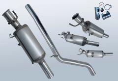 Filtro antiparticolato diesel MERCEDES BENZ B200 CDI (W246201)