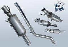 Filtro antiparticolato diesel MERCEDES BENZ A180 CDI (W176000)
