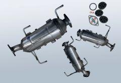 Filtro antiparticolato diesel MAZDA CX-7 2.2 MZR-CD (ER)