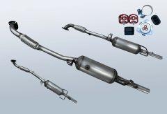 Filtro antiparticolato diesel OPEL Astra H 1.7 CDTI (L69)
