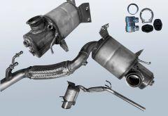 Filtro antiparticolato diesel AUDI A1 Sportback 2.0 TDI (8XA 8XF)
