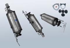 Filtro antiparticolato diesel CITROEN Jumper II 3.0 HDI 155 (250)