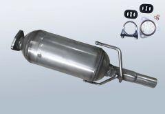 Filtro antiparticolato diesel OPEL Corsa C 1.3 CDTI (F08,W5L)