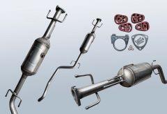 Filtro antiparticolato diesel OPEL Zafira B 1.9 CDTI (A05)